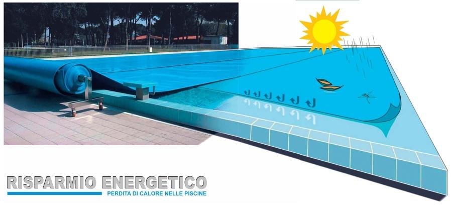 Coperture isotermiche per piscina