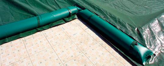 Con la copertura invernale per piscina risparmi sull'energia e sui costi di gestione