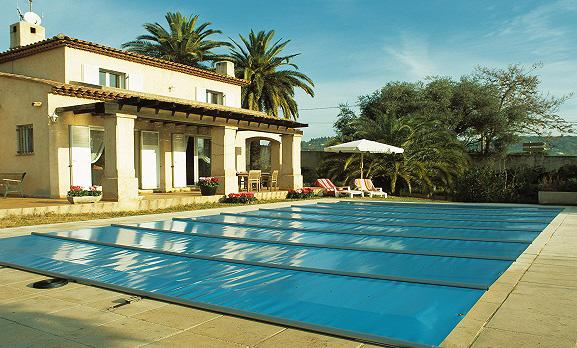 Copertura piscina di sicurezza 4 stagioni