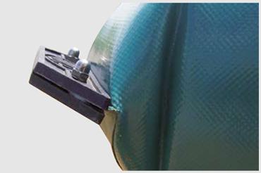 angoli rinforzati cisterne morbide in pvc