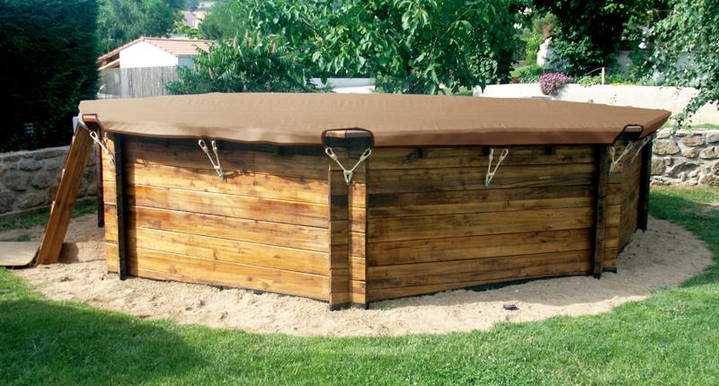copertura invernale di sicurezza poolsafe wood