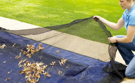 Rete raccogli foglie Polartex NET per coperture invernali