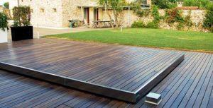 copertura piscina di sicurezza a terrazza isola 150-2