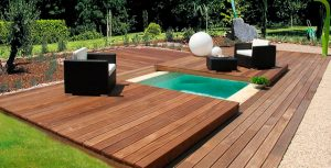 copertura piscina di sicurezza a terrazza isola 150-1
