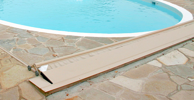 Copertura di Sicurezza per piscina Polartex® 4 SEASONS MIDDLETRACK automatica