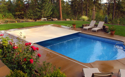 Copertura di Sicurezza automatica per piscina Polartex® 4 SEASONS